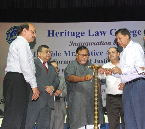 Inaguration of HLC by Former Chief Justice of India Hon'ble Mr. Justice Altamas Kabir in presence of Chief Guest Dr. Partha Chatterjee, Hon'ble MIC, Parliamentary Affairs, School Education & Higher Education Govt. of WB on Monday 24th August, 2015